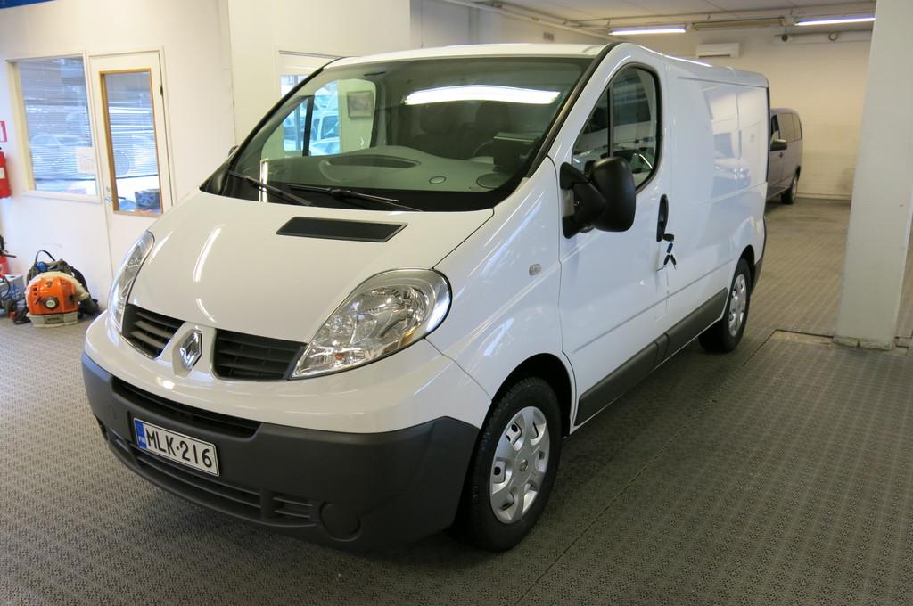 Renault Trafic Van 2, 0 dCi 90hv 6MT L1H1 *1.omistaja *AC *Webasto ajastimella *Vetokoukku *Peruutuskamera