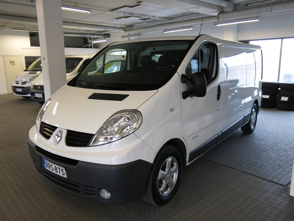 Renault Trafic Van 2, 0 dCi 115hv L2H1 NAVI+ *1.omistaja *AC *Webasto *Navi *Cruise