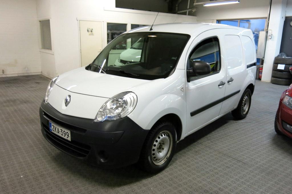 Renault Kangoo Express 1, 5 dCi 90hv 5MT Confort 5-ov *1.omistaja *AC *Peruutuskamera *Vetokoukku *Webasto kellolla