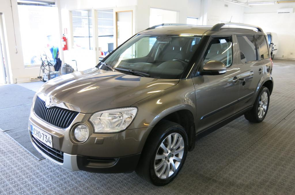 Skoda Yeti 1.2 TSi 105 Adventure *AC *Cruise *Lohko+sp