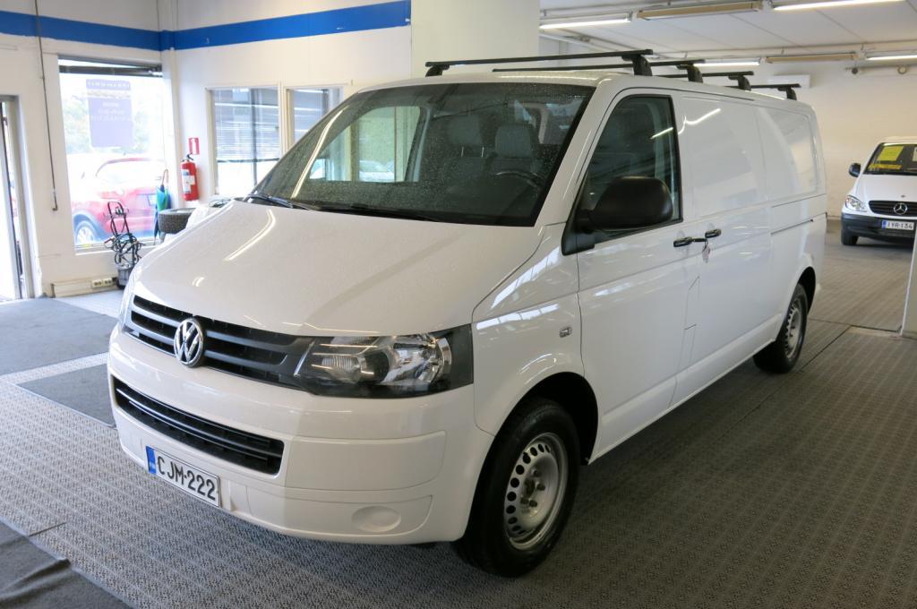 Volkswagen Transporter 2.0 TDi 114hv Pitkä *1.omistaja *AC *Eber *2xLiukuovet *Cruise *P-tutka