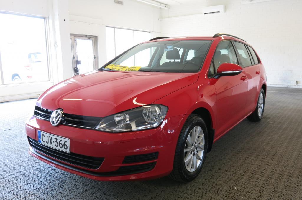 Volkswagen Golf Variant Comfortline 1, 2 TSI 77 kW (105 hv) BlueMotion Technology *1-Omistaja *Sis. Alv.