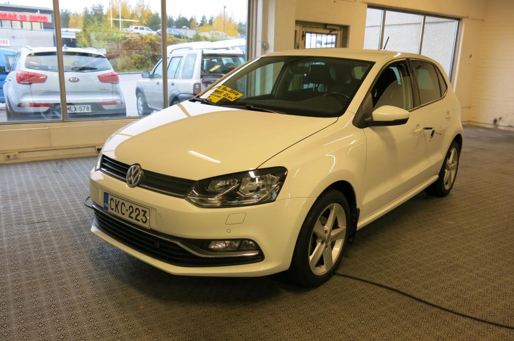 Volkswagen Polo Comfortline 1, 2 TSI 90 hv DSG-automaatti *1.omisteinen suomi-auto *AAC *P-tutkat *Bluetooth *Lohkolämm.+sisäp