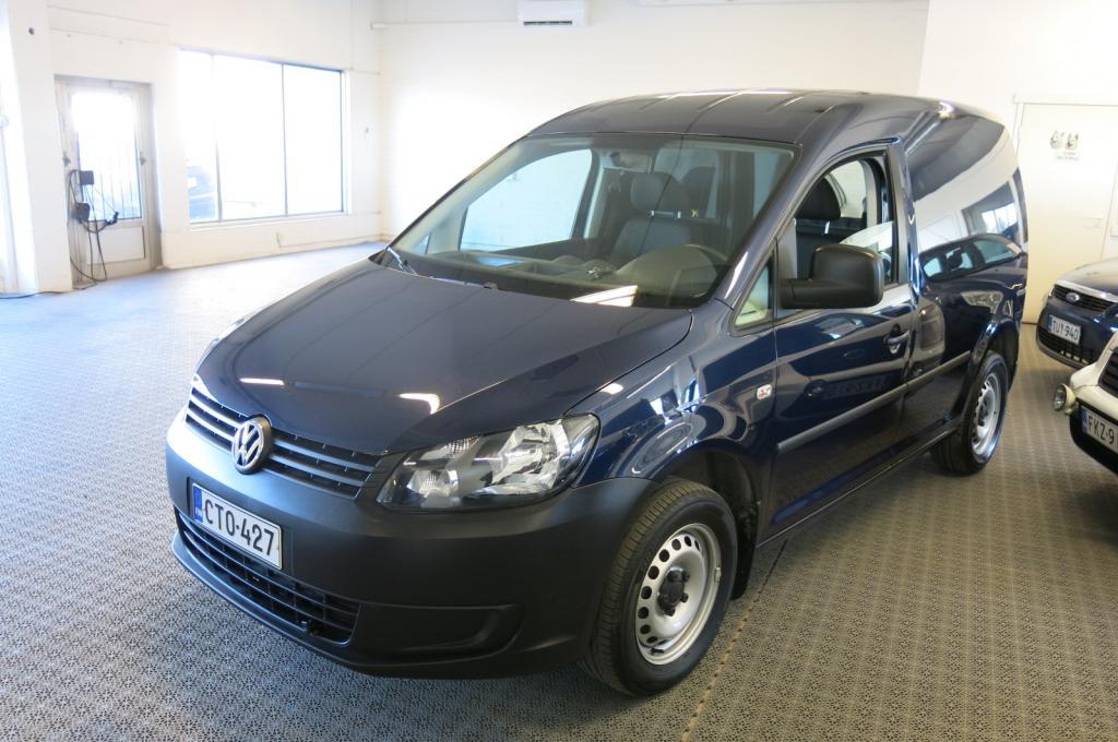 Volkswagen Caddy 1.6 TDi 102hv DSG Bluemotion *1.om. *AC *Webasto *Cruise *Suomi-auto *Sis.alv *Met.väri