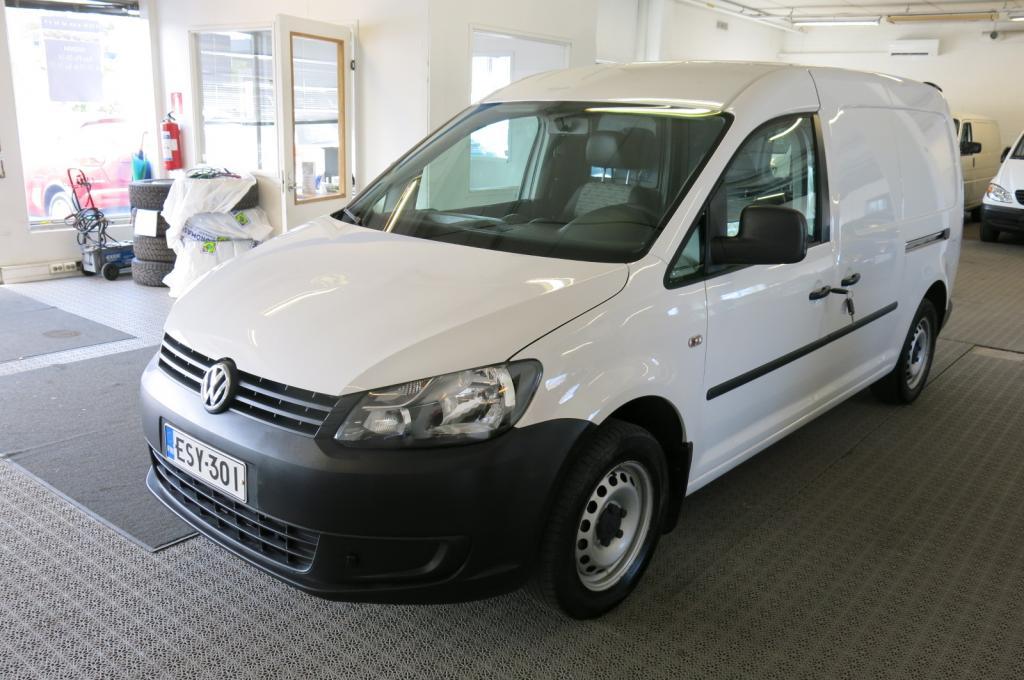 Volkswagen Caddy Maxi Pa 1, 6 TDI 102hv *1.omistaja *Suomi-auto *AC *2xLiukuovi *Hyllystö *Comfort-paketti