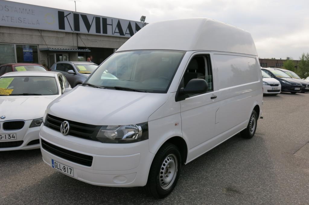 Volkswagen Transporter 2.0 TDi 114hv Pitkä+Korkea *1.om. *AC *Eber kellolla *Cruise