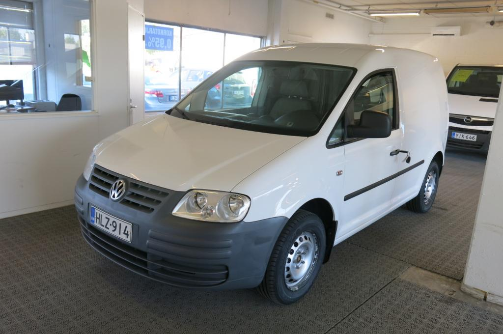 Volkswagen Caddy Pa 1.9TDi 105hv *1.om. *AC *Webasto *Suomi-auto *sis.alv