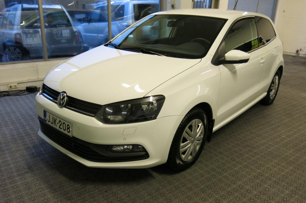 Volkswagen Polo Van 1.4TDi Trendline *1.omisteinen Suomi-auto *sis.alv *AC *Lohko+sp *Tutkat