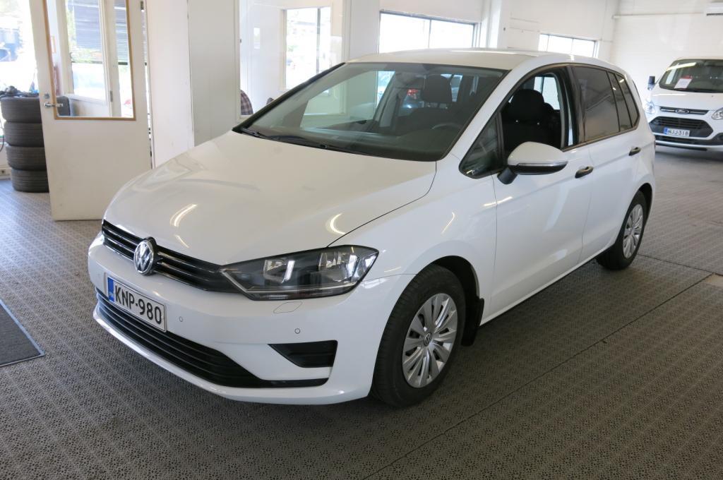 Volkswagen Golf Sportsvan 1.6 TDi Trendline *1.om. *Tehdastakuu *AC *P-tutkat *Suomi-auto