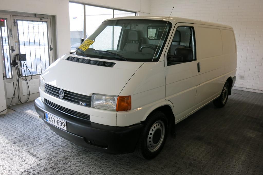 Volkswagen Transporter 2.5 TDi 90hv Lyhyt 4-ov *Webasto *Hyllystöt *Yksilö!!