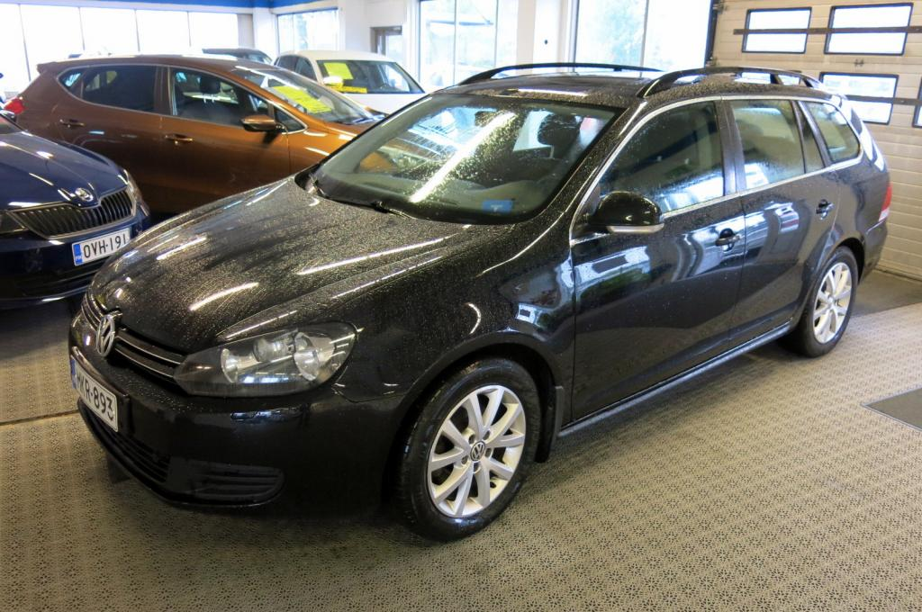 Volkswagen Golf Variant Comfortline 1, 6 TDI 77 kW (105 hv) BlueMotion Technology *AC *Lohkolämmitin *Juuri huollettu! *korko 0, 95%