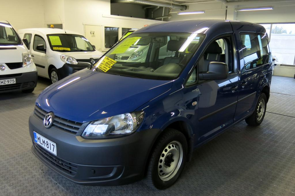 Volkswagen Caddy Kombi 1, 6 TDI 102hv BlueMotion Technology 5-ov *1.omistaja *Suomi-auto *AC *Cruise *Lohko+sp