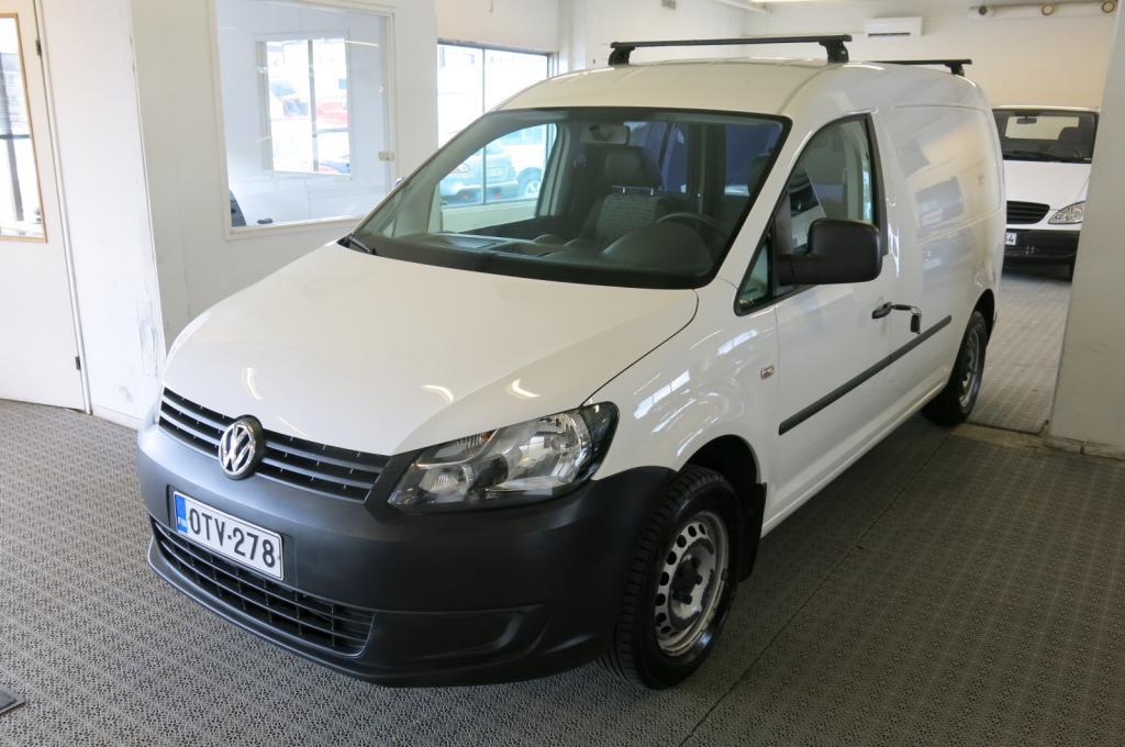 Volkswagen Caddy Maxi 1.6 TDi 102hv Bluemotion *1.om. *AC *Webasto *Cruise *Alv