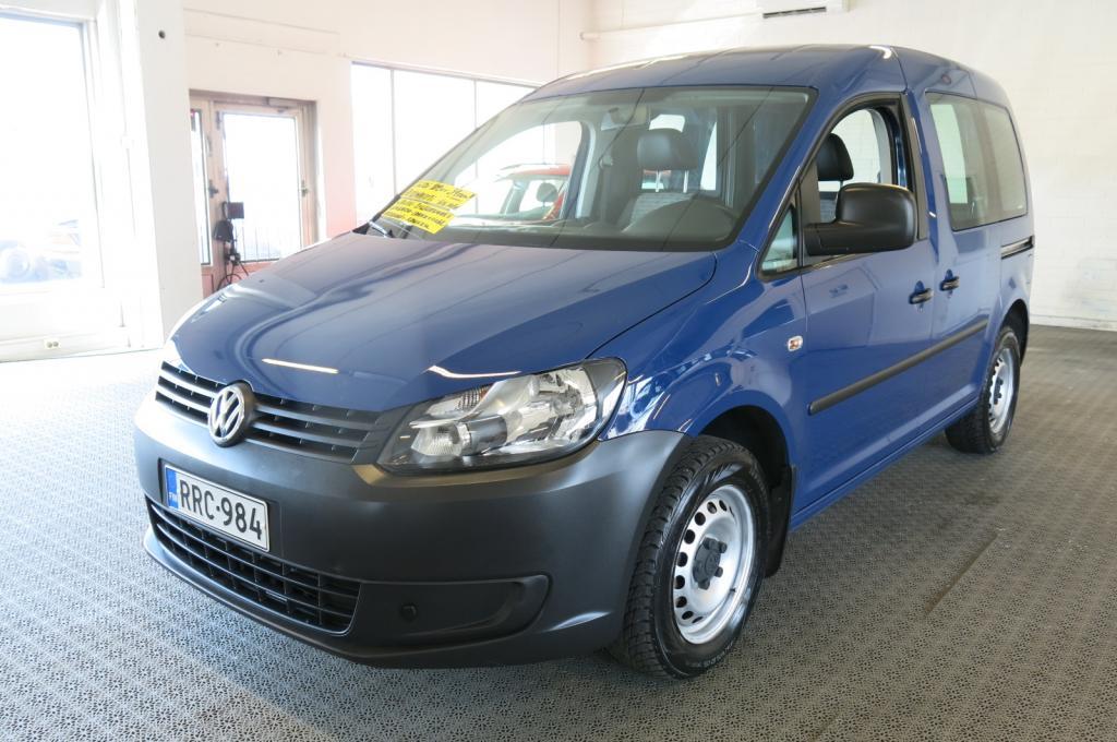 Volkswagen Caddy 1, 6 TDI 75kW DSG. BlueMotion Technology *Webasto *Vähän ajettu