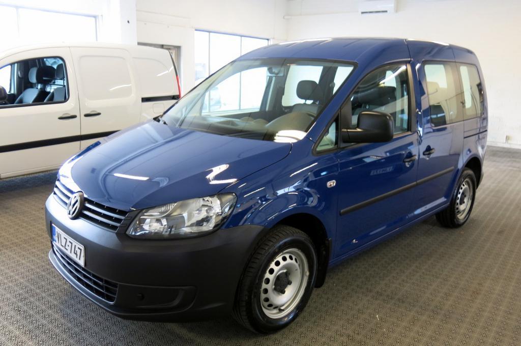 Volkswagen Caddy Kombi 1, 6 TDI 102hv BlueMotion Technology *1. omisteinen Suomi-auto *AC *Webasto kauk.ohj. *Cruise *Parkkitutka