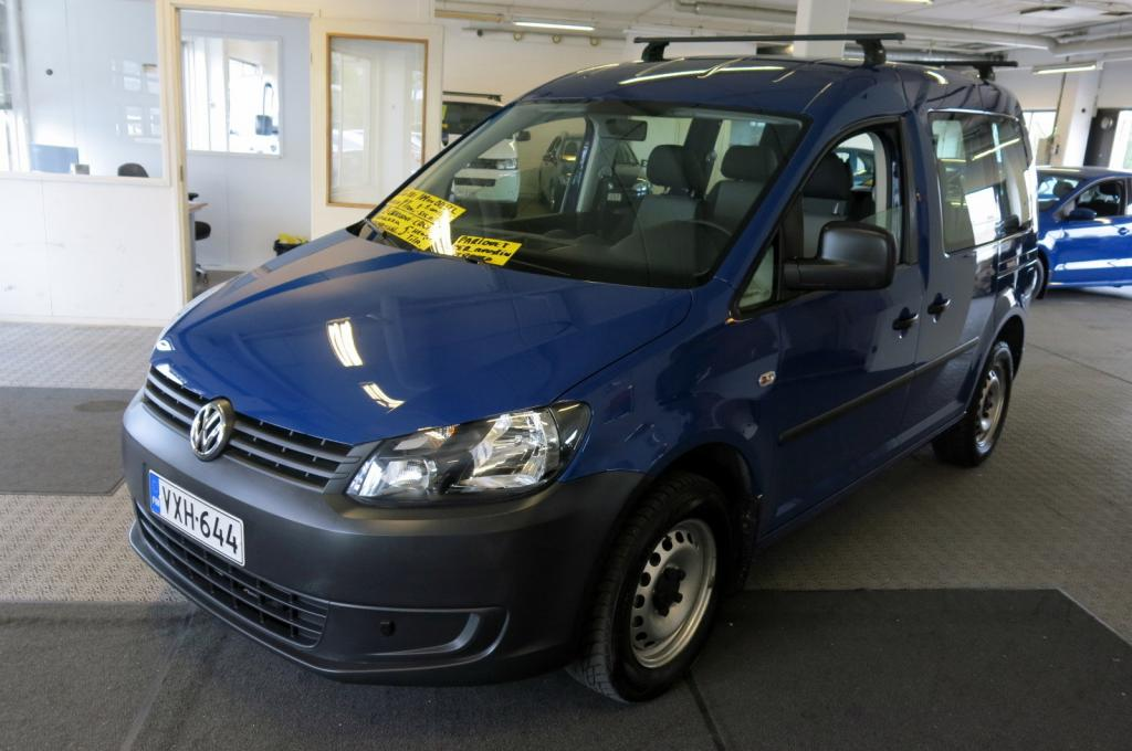 Volkswagen Caddy Kombi 1, 6 TDI 105hv BlueMotion Technology 5-ov *1.omistaja *Suomi-auto