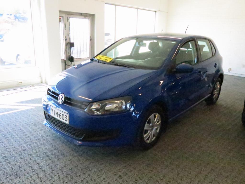 Volkswagen Polo Trendline 1, 2 51 kW (70 hv) *1.omistaja *Suomi-auto *AC *lohko+sp *Cruise *P-tutka