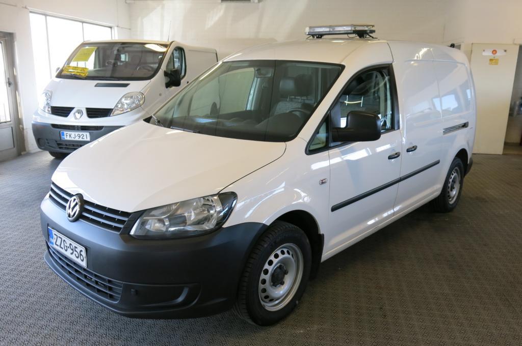Volkswagen Caddy Maxi 1.6 TDI 102hv *2xliukuovi *1.omistaja. *Suomi-auto *AC *Hyllystö *Invertteri