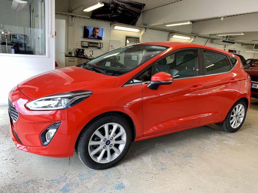 Ford Fiesta 1, 0 EcoBoost 100hv Titanium,  VÄHÄN AJETTU!