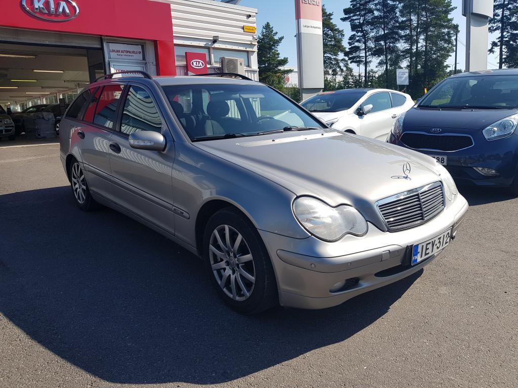 Mercedes-Benz C 220 CDI STW Automatic,  Seuraava katsastus 6.11.2020,  Hyvin huollettu!