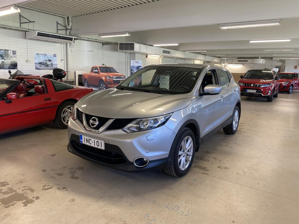 Nissan Qashqai dCi 110 Acenta 2WD 6M/T Safety Pack Connect