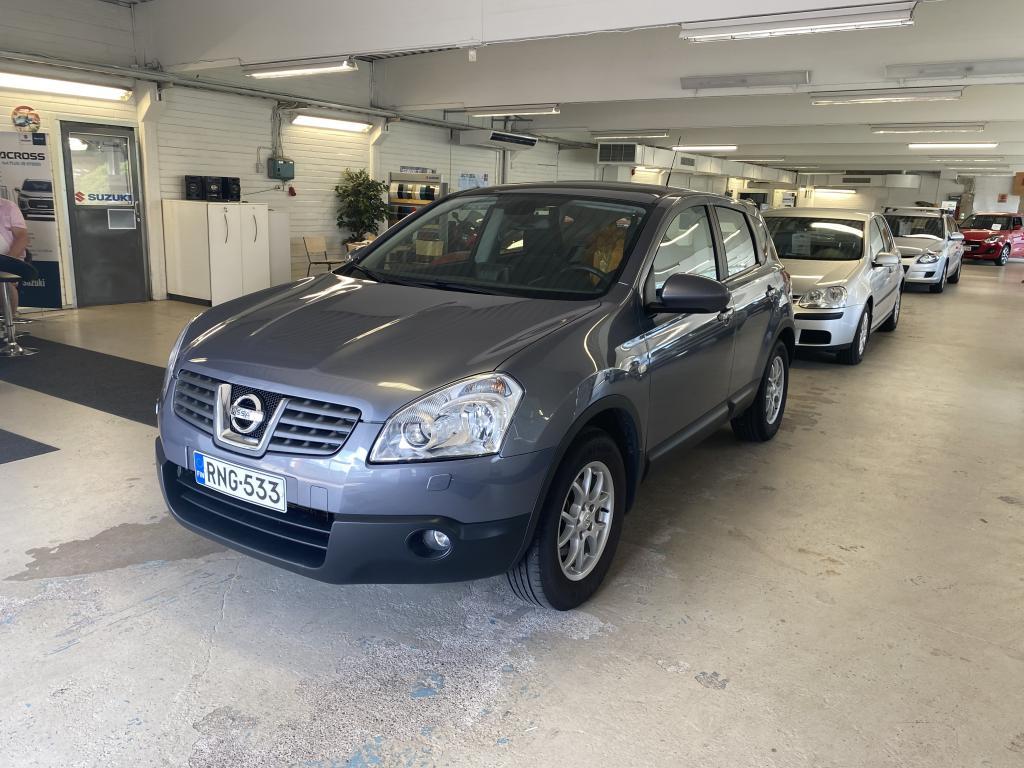 Nissan Qashqai 2, 0 Tekna CVT 4x4 Navi