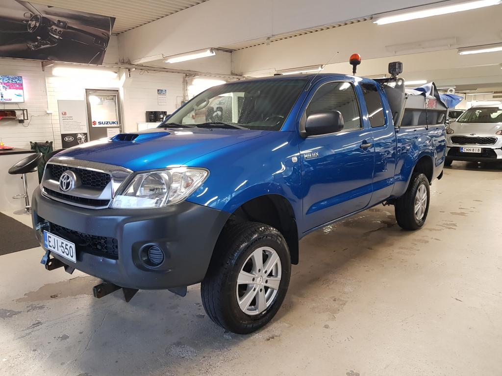 Toyota Hilux 2.5 Aura / Hiekotus