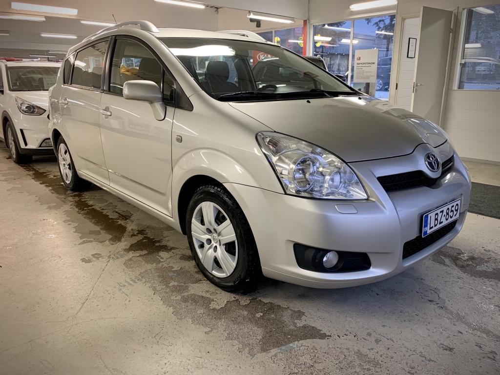 Toyota Corolla Verso 1, 8 VVT-i Linea Sol 7p AUTOMAATTI!