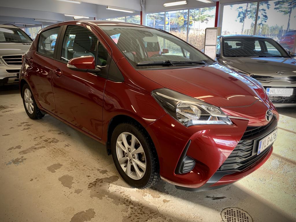 Toyota Yaris 1, 0 VVT-i Edition 5ov #Vähän ajettu