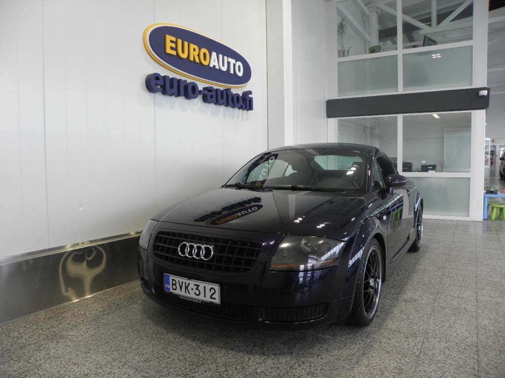 Audi TT Coupe 1, 8 T 180hv,  VAIN 155e/KK,  NAVI,  NAHAT,  PIONEER,  18 TUUMAN ALUT. LOHKIS,  KAHDET RENKAAT,  SPORTTIPENKIT,  XENON