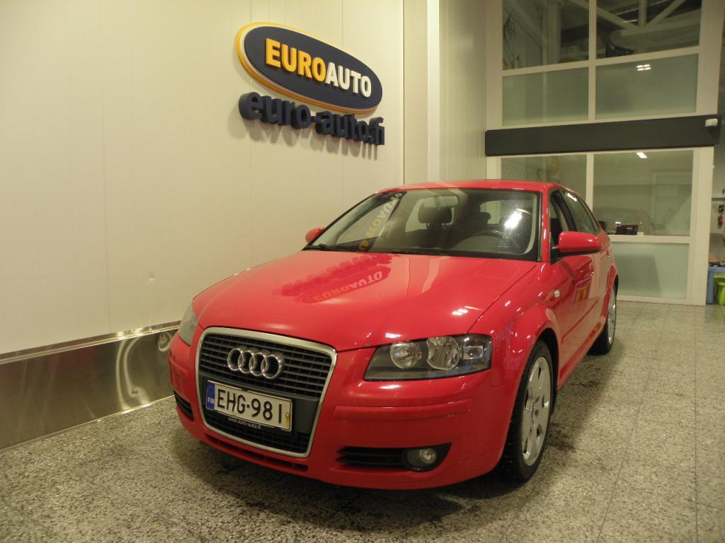 Audi A3 Sportback Ambiente 1, 8 TFSI 118 kW S tronic,  SUOMI AUTO,  AUT.ILM. KAHDET RENKAAT,  ALUT. LOHKIS