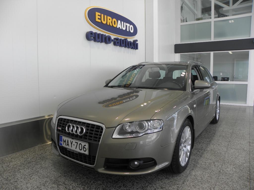 Audi A4 Avant Sport Edition 2, 0 TDI (DPF) 140hv quattro S-LINE,  SUOMI AUTO,  NAHAT,  KAHDET RENKAAT,  SPORTTIPENKIT,  VETOKOUKKU
