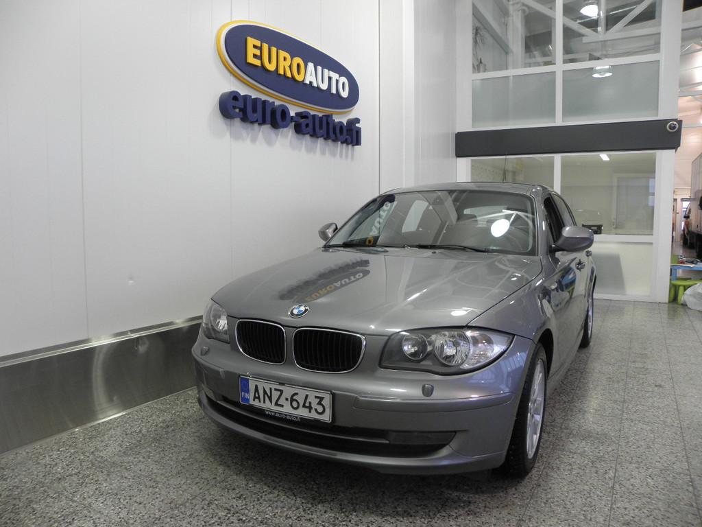 BMW 116 E87 Hatchback 5-ov Business,  1.OMISTEINEN SUOMI AUTO,  DTC,  AUX,  CRUISE,  KAHDET RENKAAT,