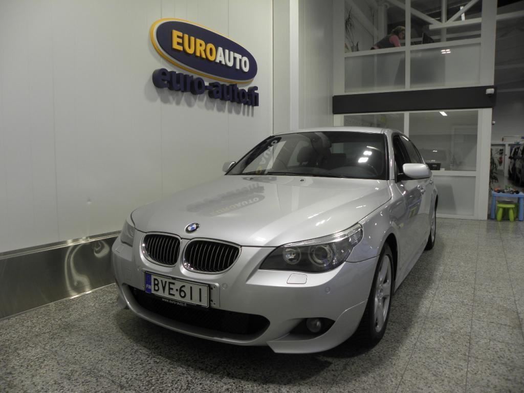 BMW 530 E60 xd A Sedan M-Sport,  UPEA NELIVETO,  SPORTTIPENKIT,  NAHAT,  18 TUUMAN ALUT. XENON,  CRUISE,  VETOKOUKKU,  LOHKIS