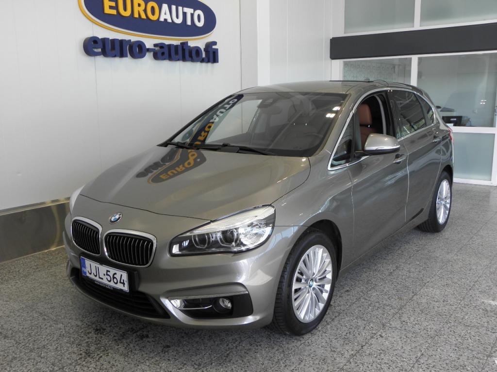 BMW 218 F45 Active Tourer 218d A Business Luxury,  SUOMI AUTO,  VAIN 279e/KK,  NAHAT,  LED,  BLUETOOTH,  17