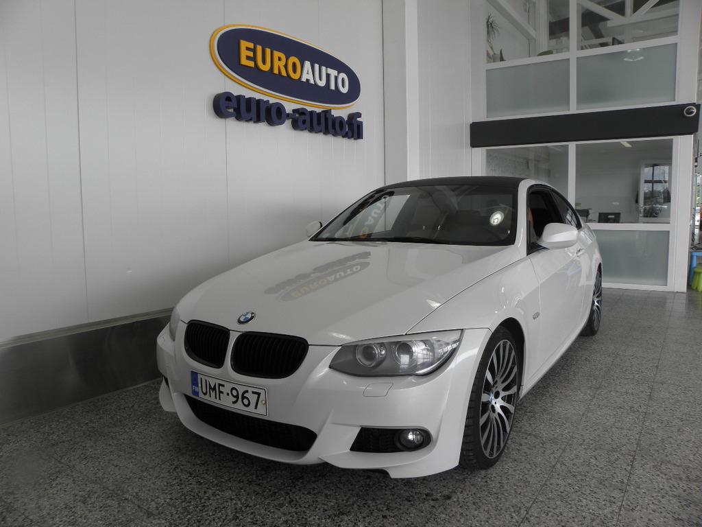 BMW 335 M-Sport TwinPower 306hv Turbo E92 Coupé,  SUPER HIENO SUOMI AUTO,  HELMIÄISVALKOINEN,  URHEILUISTUIMET,  KAHDET RENKAAT,  AUX