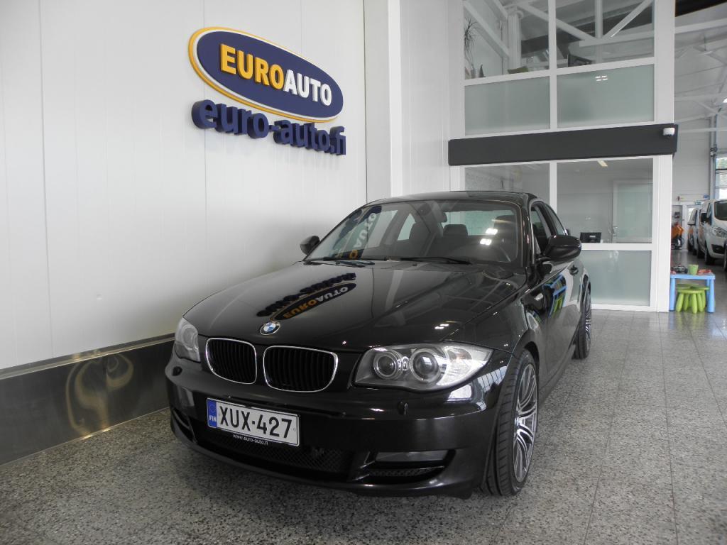 BMW 118 d E82 Coupé SIISTI SUOMI AUTO,  18 TUUMAN ALUT. LOHKIS,  CRUISE,  KAHDET RENKAAT,  AUX,  XENON,  HYV KATS AUT VÄH 1000