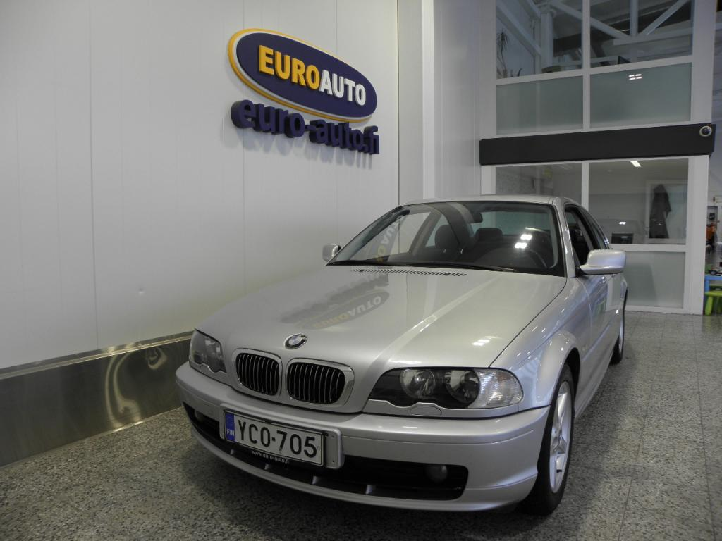 BMW 323 Ci Coupe,  HIENO IKÄISEKSEEN,  SUOMI AUTO,  ILMASTOINTI,  SÄHKÖISÄÄTÖISET ISTUIMET,  ALUT. HYV KATS AUT VÄH 1000