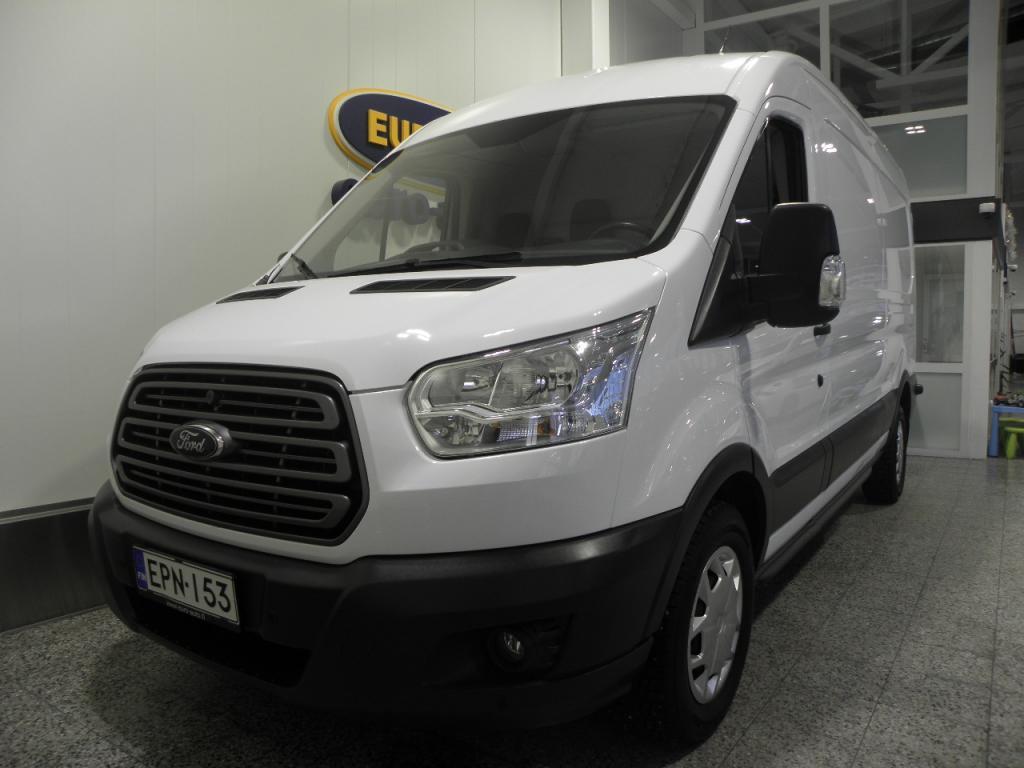 Ford Transit Van 350 2, 2 TDCi 125 hv Trend L3 H2 etuveto SIS.ALV. ISO PAKU VAIN 299?/KK,  ILMASTOINTI,  CRUISE,  KAHDET RENKAAT,  USB,