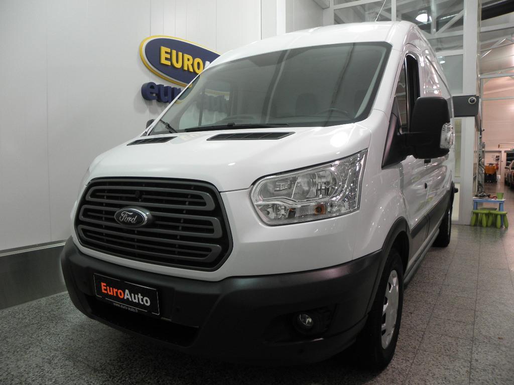 Ford Transit 350 2, 0 TDCi 130 hv Trend L3 H2 etuveto SIS. ALV. VÄHÄN AJETTU,  CRUISE,  BLUETOOTH,  AUX,  USB,  ILMASTOINTI,  VANERIT