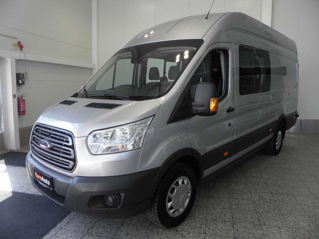 Ford Transit Van FT350 6-hlö jumbo 2, 0 TDCi 130 hv Takaveto Trend L4H3 K-A SIS.ALV. AJAMATON AUTO TEHDASTAKUULLA,  VAIN 450? / KK