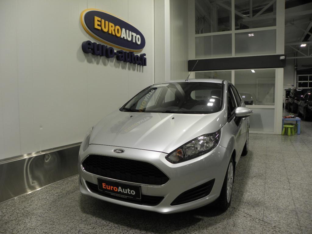 Ford Fiesta 1, 0 EcoBoost 100hv PowerShift Aut. 5-ovinen SIS.ALV. VAIN 250?/KK HIENO AUTOMAATTI,  CRUISE,  USB,  ISOFIX,  TUTKA,  AUX