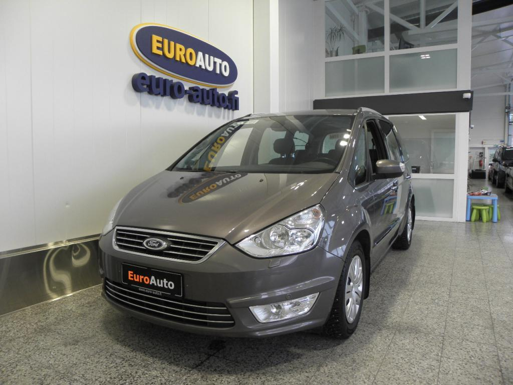 Ford Galaxy 2, 0 EcoBoost 203 hv PowerShift Titanium A6 5-ov 7-hengen,  KUIN UUSI,  NAHKAVERHOILU,  CRUISE,  KAHDET RENKAAT,  AUX,  ALUT