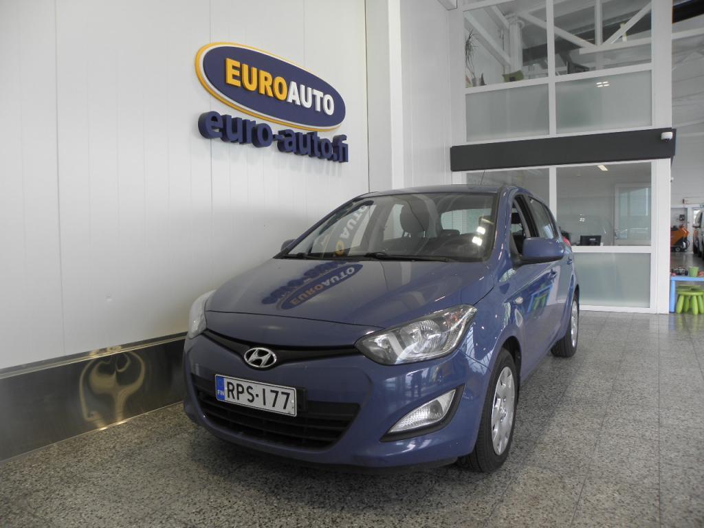 Hyundai i20 5d 1, 2 5MT Classic Business,  SUOMI AUTO,  ILMASTOINTI,  LOHKIS,  ESC,  ISOFIX,  SEURAAVA KATS. 07/2021,  VAIN 140?/KK