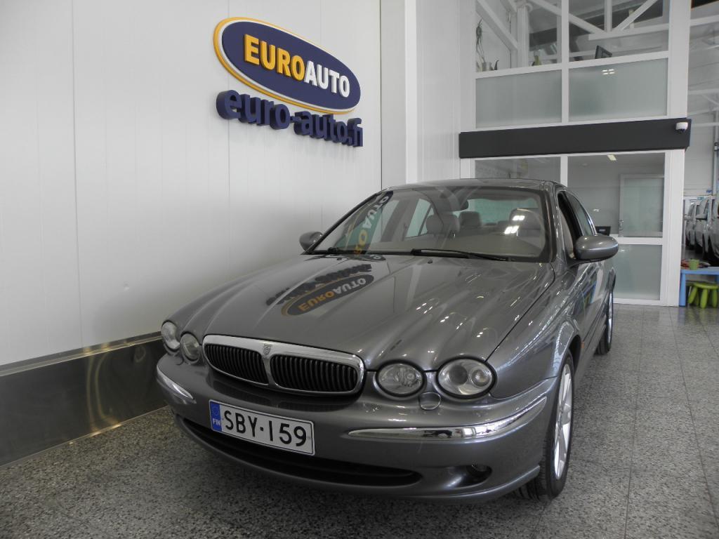 Jaguar X-Type 3, 0 V6 AWD Executive,  NAHAT,  AUT.ILMASTOINTI,  CRUISE,  WEBASTO,  KAHDET RENKAAT,  PERUUTUSKAMERA,  HYV KATS AUT VÄH 1000