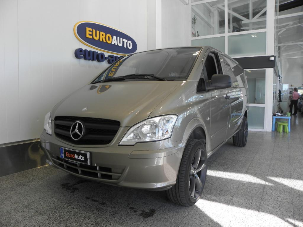 Mercedes-Benz Vito 116CDI 163hv keskipitkä A2 4x4 Aut. SIS.ALV. SIISTI NELIVETO VAIN 260?/KK,  WEBASTO,  19 TUUMAN ALUT. VETOKOUKKU,