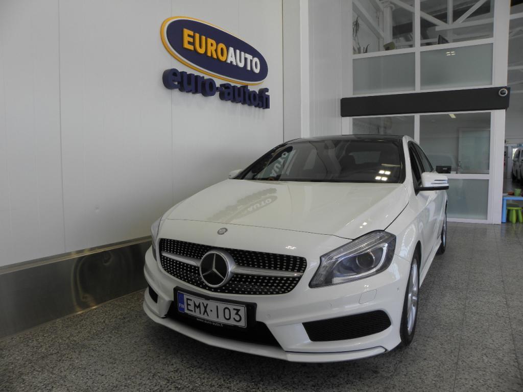 Mercedes-Benz A 200 BE Aut AMG LINE Premium Business,  SUOMI AUTO,  AMG SISÄ- JA ULKOPAKETTI,  CRUISE,  BLUETOOTH,  USB,  XENON,  LED,  NAHAT