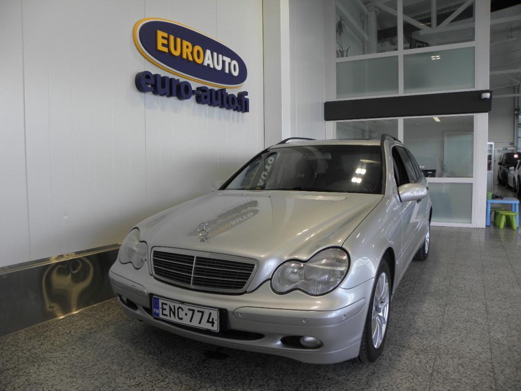 Mercedes-Benz C 200T Kompressor Aut. SIISTI BENSA MESE,  KATTOLUUKKU,  CRUISE,  ALUT. TUMMENNUKSET,  ESP,  PENKINLÄMMTTIMET,