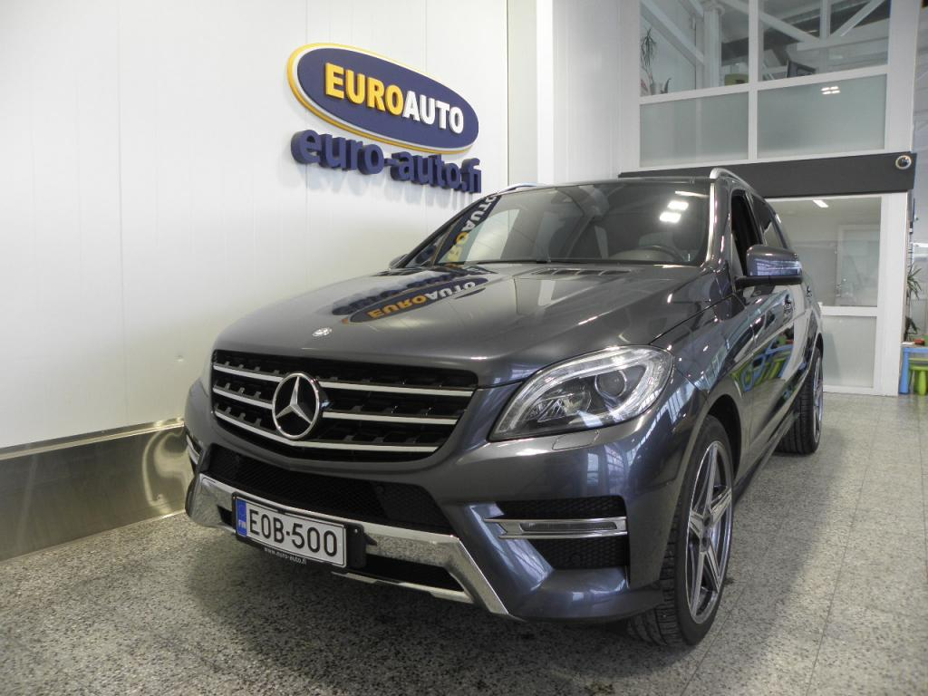 Mercedes-Benz ML 350 BLUETEC 4MATIC 2987cm3 Aut. AMG Premium Business 5-HLÖ  PAKETTIAUTO,  SIS.ALV. PANORAMA,  NAHAT,  NAVI,  BLUETOOTH,  USB