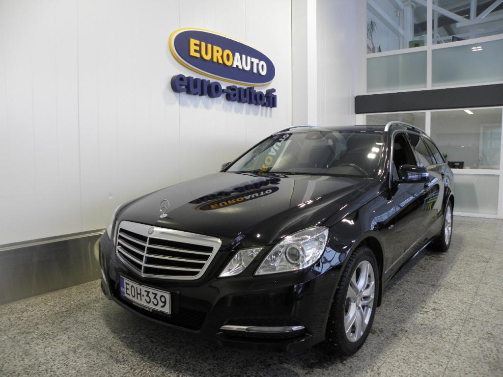 Mercedes-Benz E 200 CDI BE T Aut. Avantgarde,  HUIPPU SIISTI JA VÄHÄN AJETTU,  NAVI,  LOHKIS,  BLUETOOTH,  HARMAN / KARDON,